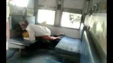 Tharki old uncle fucking co passenger in train