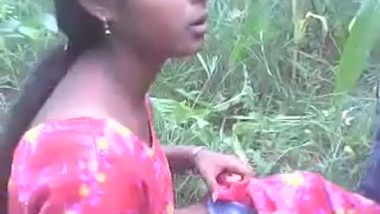 Village girl outdoor sex with lover
