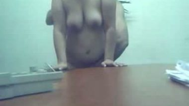 Desi Aunty Sex In Office With the Boss