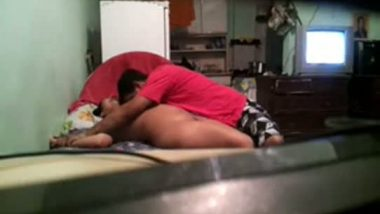Humping cute girl in doggy position