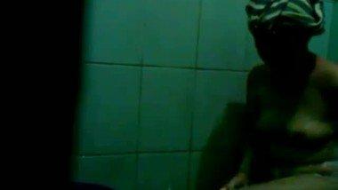 Bathroom voyeur