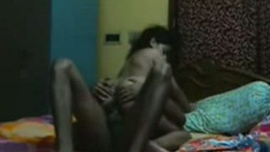 Desi Busty South Indian Girl Banged By Her Lover PART 4