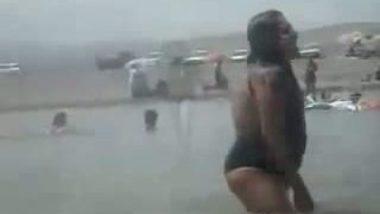Bikini Tamil Wife On Beach