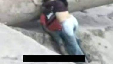 Beach Couple Sex Scandal