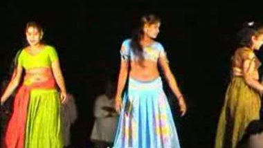 Telugu Hot Girls Night stage dance 13