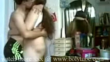 desi aunty with young boy
