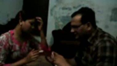 Mumbai hot call girl with her new client hidden cam MMS