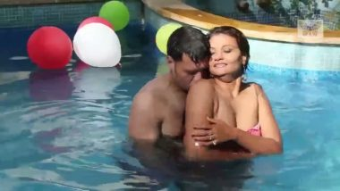 Bihari bhabhi outdoor romance in swimming pool