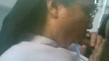 Mallu nun blowjob & sex with student mms scandal