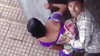 Indian couple caught in public