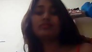 Desi Swati Naidu Stripteasing Fans