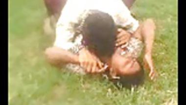 Desi Indian Big Boob aunty captured outdoor part1