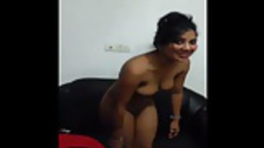 Pretty Indian  undresses and shows  big tits and  pussy