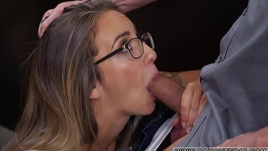Amateur brunette facial and footjob blowjob