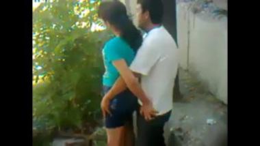 Desi teen caught while having her ass banged