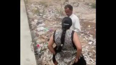 Indian Aunty Caught Having Sex In Open