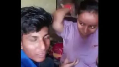 Playing With Hot Tits Of Village Chick