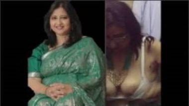 Boobs Of Desi Aunty In Trial Room