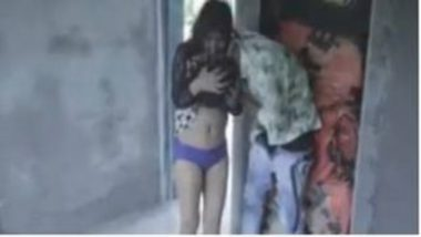 Indian Teen's Terrace Sex And Hot Blowjob Video
