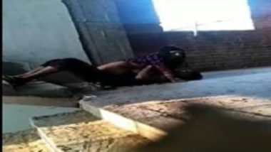 Erotic Sex MMS Shot In Terrace Of New Apartment In Mumbai