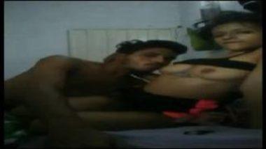 Sucking Boobs Of Mumbai Girl Before Handjob