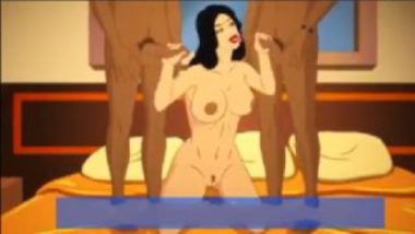 Cartoon Sex Video Showing Savita Bhabhi Threesome