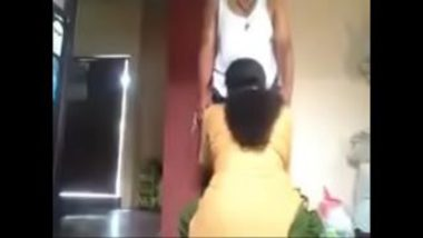 Sexy Tamil Maid Giving Amazing Blowjob