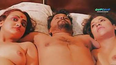 Indian Threesome sex, Maa Beti Or damad