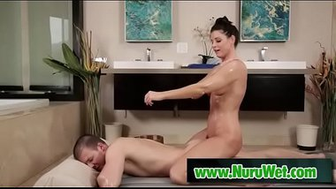 Milf India Summer knows how to give a nuru massage