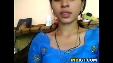 Indian Teen From My School Reveals Her Tits