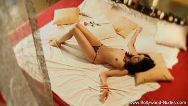 A Seductive Dance From A Brunette MILF While Wearing Dress