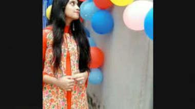 Beautiful Cute Bangladeshi Girl Showing On Video Call