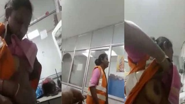 Hindi office sex scandal MMS video