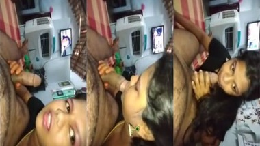Indian girl blowjob to her cousin brother