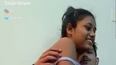 Desi Tango Striper nude video with her BF