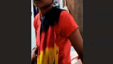 Desi Randi Giving Blowjob