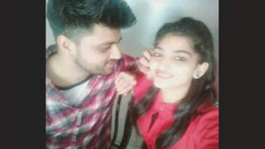 Desi Lovers Having When No Home