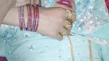 Indian desi Saree shalni bhabhi night sote bakt fucked