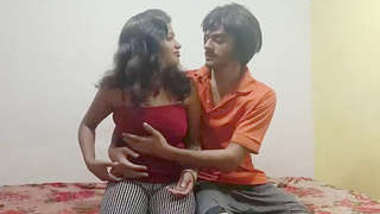 Desi brother-sister romance when no one not in home