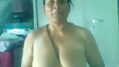 Punjabi sex clip of mature aunty sex with devar at home