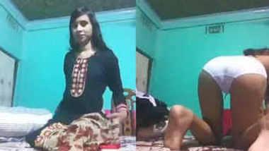 bengali girl fingering eating her own cum