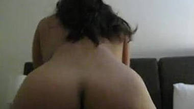 Mature wife enjoys riding hubby & moans, Hubby shoots