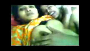 Desi girl gets blackmailed into threesome sex by her friends