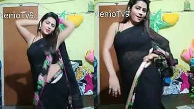 Bigo Priyanka , Seduce too much, show navel ,armpit ,transparent saree dance