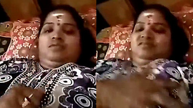 Telugu aunty hot video call