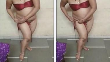 Indian wearing Bikini after fucking