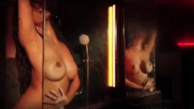 Wet nude poonam pandey fingering video in shower