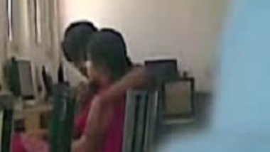 Cheating Indian wife caught on hidden cam with office colleague