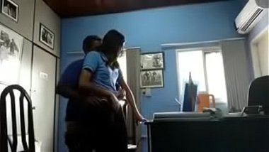 Sexy Tamil Student's Ass Banged By Teacher