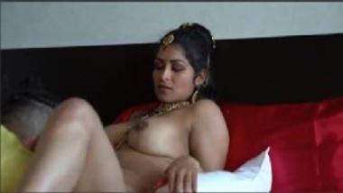 NRI Bhabhi's Erotic Suhagrat Video With Husband